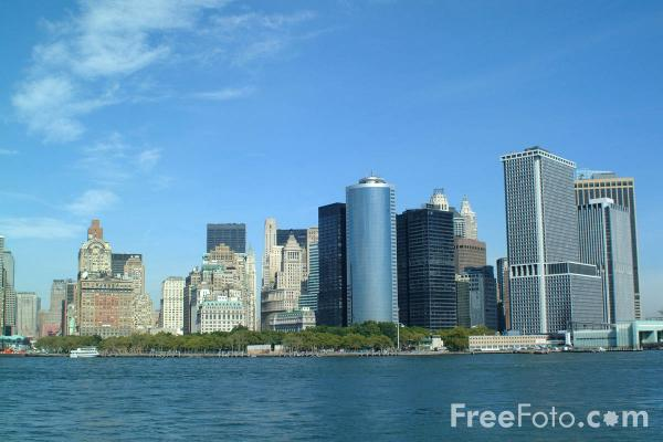 New York, Skyline Manhattan